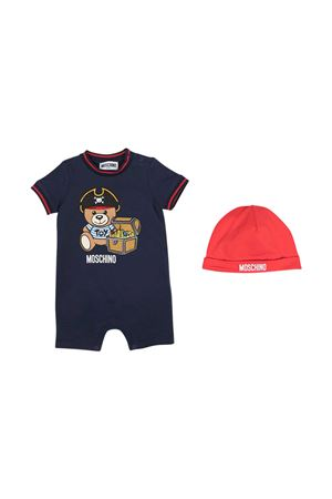 Tutina blu Moschino Kids MOSCHINO KIDS | 75988882 | MUY03ALBA0840016