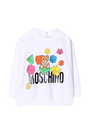 Felpa bianca Moschino Kids MOSCHINO KIDS | 1169408113 | MWF02ZLDA1210101