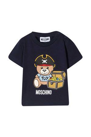 T-shirt blu Moschino Kids MOSCHINO KIDS | 8 | MWM02ALBA0840016