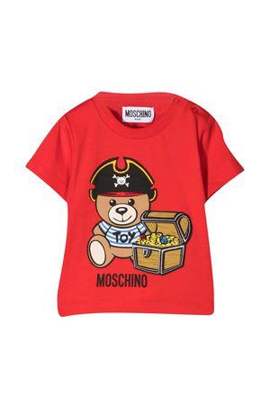T-shirt rossa Moschino Kids MOSCHINO KIDS | 8 | MWM02ALBA0850109