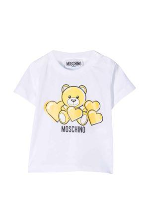 Moschino Kids white t-shirt  MOSCHINO KIDS | 8 | MXM02ALAA0382673