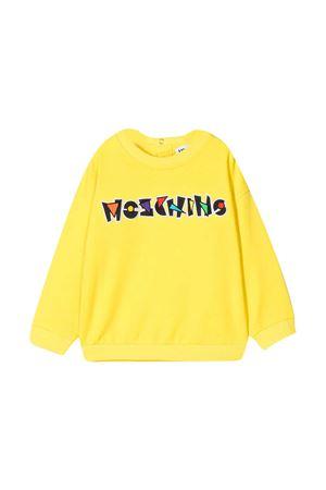 Felpa gialla Moschino Kids MOSCHINO KIDS | 1169408113 | MZF02ZLDA1350162