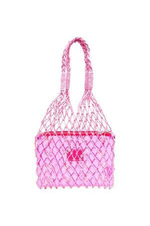 Pink Msgm Kids tote bag  MSGM KIDS | 31 | MS026803042
