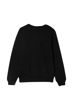 Black teen sweatshirt MSGM Kids MSGM KIDS | -108764232 | MS026818110T
