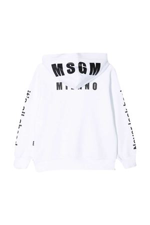 Felpa bianca teen MSGM kids MSGM KIDS | 5032280 | MS026826001T