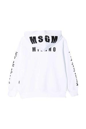 Felpa bianca MSGM kids MSGM KIDS | 5032280 | MS026826001