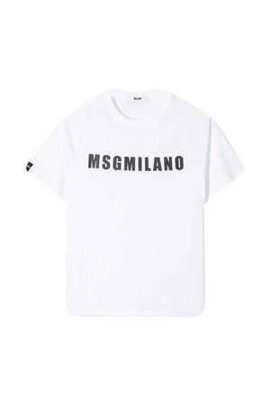 T-shirt bianca teen MSGM kids MSGM KIDS | 8 | MS026827001T