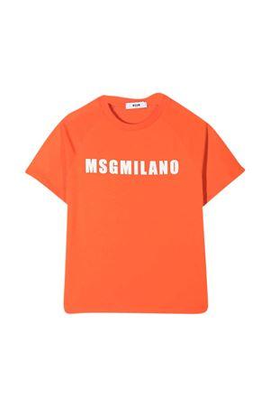 T-shirt arancione MSGM kids MSGM KIDS | 8 | MS026827030