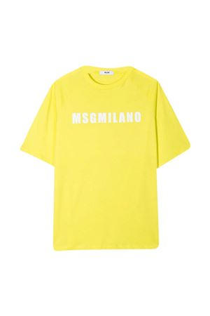 T-shirt gialla teen MSGM kids MSGM KIDS | 8 | MS026827086T