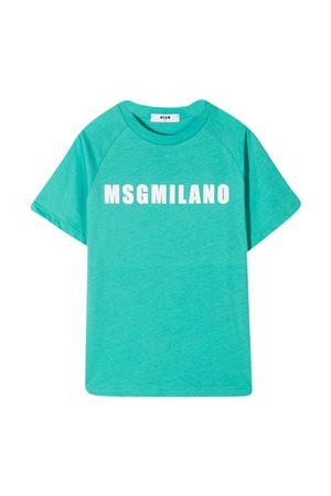 T-shirt tiffany teen MSGM kids MSGM KIDS | 8 | MS026827114T