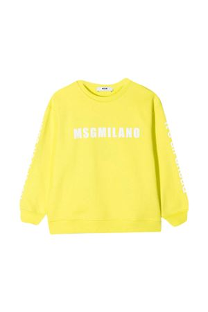 Yellow sweatshirt MSGM kids  MSGM KIDS   -108764232   MS026828086