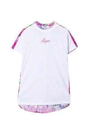 T-shirt bianca Msgm Kids MSGM KIDS | 11 | MS026851001