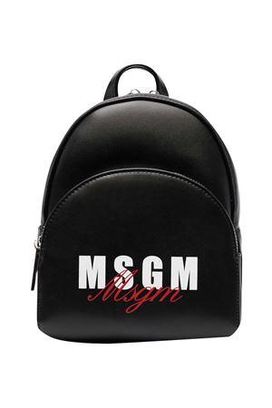 Zaino nero Msgm Kids MSGM KIDS   5032345   MS026858110