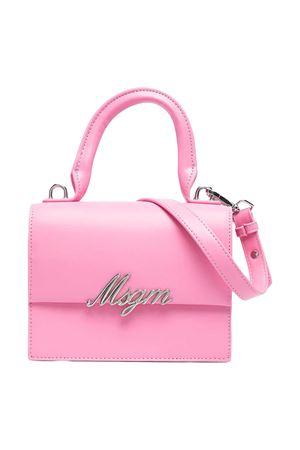 Borsa a spalla rosa con applicazione Msgm kids MSGM KIDS | 31 | MS026863042