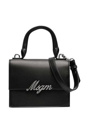 Borsa a spalla nera con applicazione Msgm kids MSGM KIDS | 31 | MS026863110
