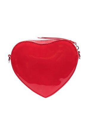 Borsa a spalla rossa con logo Msgm kids MSGM KIDS | 31 | MS026865040