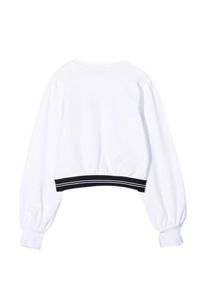 White teen sweatshirt Msgm Kids MSGM KIDS | -108764232 | MS026944001T
