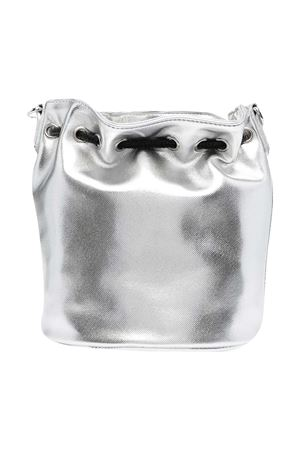 Silver bag with logo Msgm kids MSGM KIDS | 31 | MS027076122