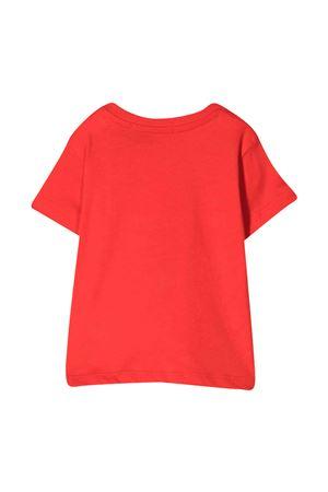 T-shirt rossa con stampa bianca Msgm kids MSGM KIDS   8   MS027265040