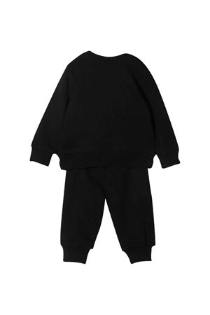 Completo nero felpa e pantalone con logo Msgm kids MSGM KIDS | 42 | MS027268110