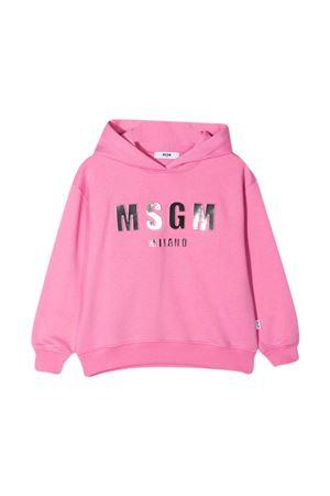 Pink sweatshirt teen Msgm Kids  MSGM KIDS | 5032280 | MS027388042T