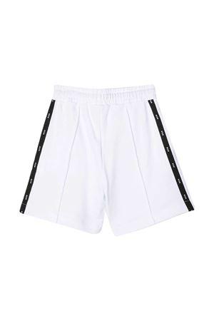 MSGM Kids white teen bermuda shorts MSGM KIDS | 5 | MS027593001T