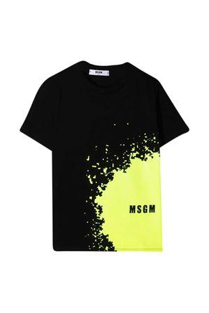 Black teen t-shirt Msgm Kids  MSGM KIDS   8   MS027614110T