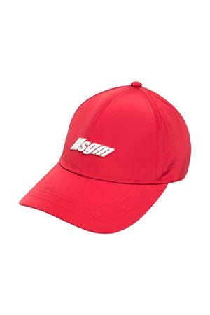 Cappello da baseball rosso Msgm kids MSGM KIDS | 75988881 | MS027632040
