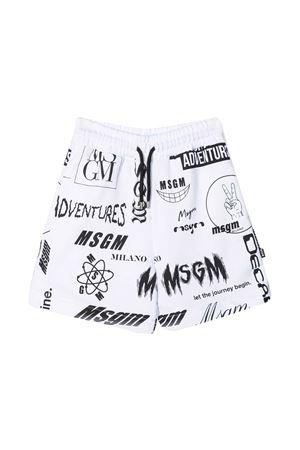 White bermuda shorts Msgm Kids MSGM KIDS | 5 | MS027636001