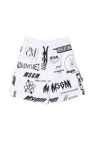 Msgm Kids teen sports bermuda shorts  MSGM KIDS | 5 | MS027636001T