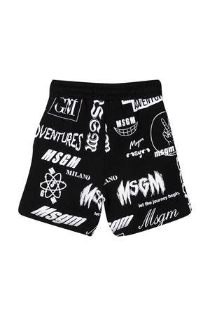 Msgm Kids black teen bermuda shorts  MSGM KIDS | 5 | MS027636110T