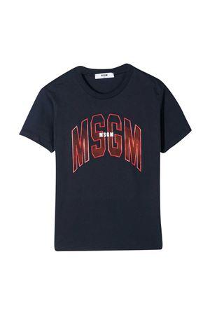 T-shirt blu Msgm Kids MSGM KIDS   8   MS027643060