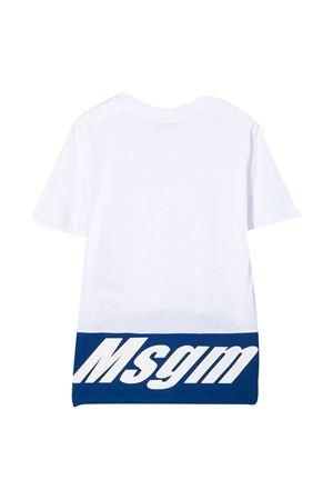 T-shirt bianca Msgm Kids MSGM KIDS   8   MS027654001