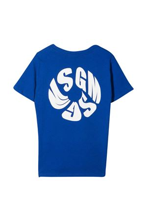 MSGM kids royal blue t-shirt  MSGM KIDS | 8 | MS027659130