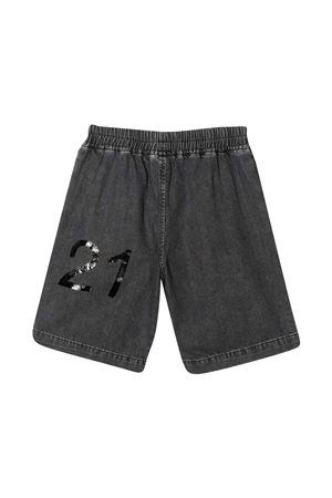 Black shorts N ° 21 Kids  N°21 KIDS | 30 | N21011N01480N02