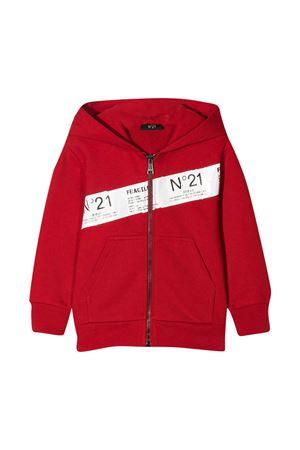 Red sweatshirt N ° 21 kids N°21 KIDS | -108764232 | N21021N01550N400