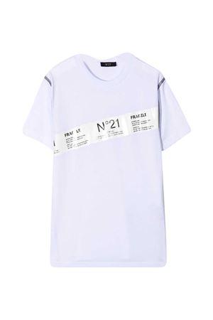 T-shirt bianca teen N° 21 kids N°21 KIDS   8   N21029N00030N100T