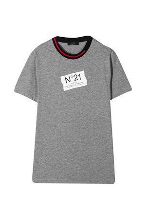 N ° 21 kids gray t-shirt  N°21 KIDS | 8 | N21030N00040N901