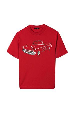 T-shirt with Nº21 Kids print N°21 KIDS | 8 | N21035N00030N400