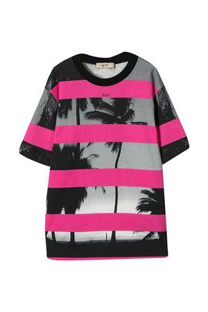 T-shirt nera N°21 Kids N°21 KIDS | 8 | N21085N00800N306