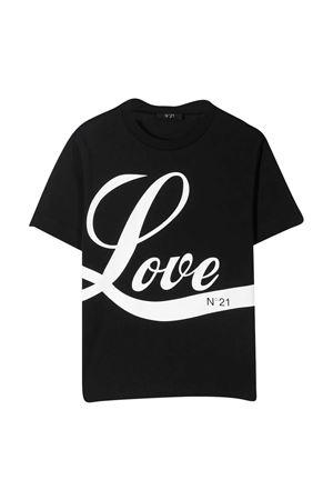 T-shirt nera N° 21 kids N°21 KIDS | 8 | N21090N00030N900