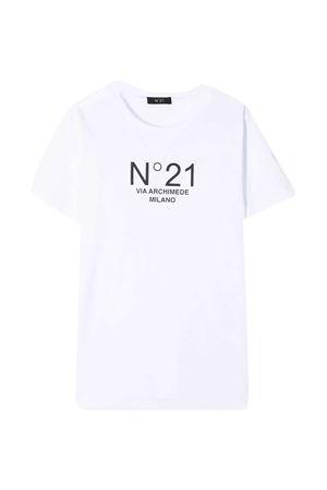 T-shirt bianca teen N° 21 kids N°21 KIDS | 8 | N21108N01530N100T