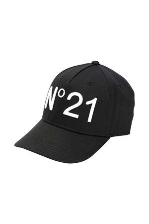 Cappello nero N° 21 Kids N°21 KIDS | 75988881 | N2143FN00410N900