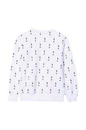 Neil Barrett kids white sweatshirt  NEIL BARRETT KIDS   -108764232   027871001