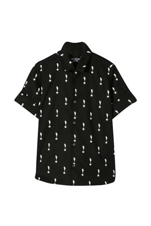 Camicia nera teen Neil Barrett kids NEIL BARRETT KIDS | 6 | 027872110T