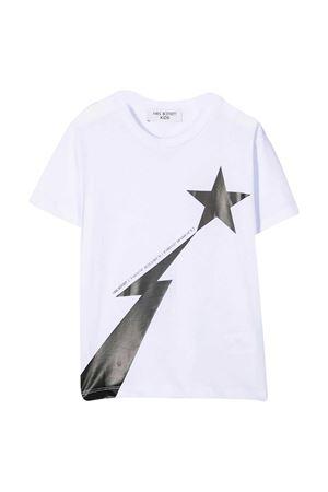Neil Barrett kids white t-shirt NEIL BARRETT KIDS | 8 | 027875001