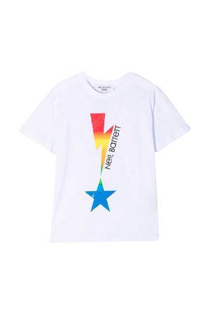 White t-shirt Neil Barrett kids  NEIL BARRETT KIDS | 8 | 027880001