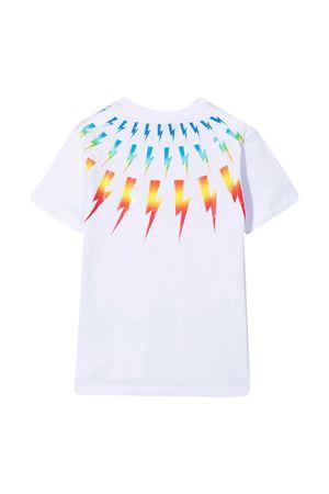Neil Barrett kids white t-shirt  NEIL BARRETT KIDS | 8 | 027886001