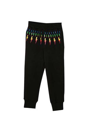 Neil Barrett kids black joggers  NEIL BARRETT KIDS   9   027887110