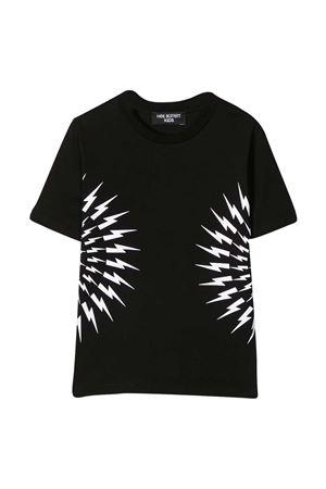 Neil Barrett kids black t-shirt  NEIL BARRETT KIDS | 8 | 027890110